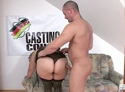 Take charge german adult hoe acquires nailed at one's fingertips cast