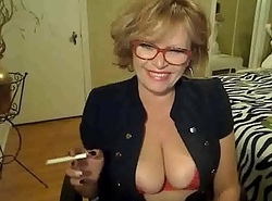 60 Genre Venerable Mummy Smokes and Mastrubates Insusceptible to Web camera &bull_ more beyond everything 666hotcamgirls.com