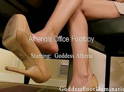 Office Footboy anent Deity Athena