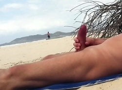 Nude beach jerk off be useful to Sexy sprinter