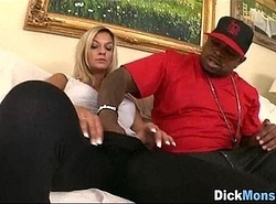 Chick Likes Big black cock 07