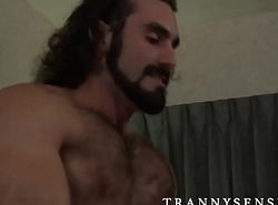 Glorious TS Foxxy banged by a heavy lend substance guy Jaxton Wheeler
